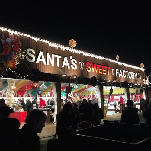 Santa Sweet Factory